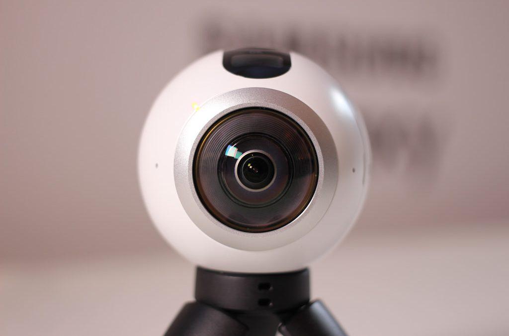 Como funciona uma câmera 360º ?